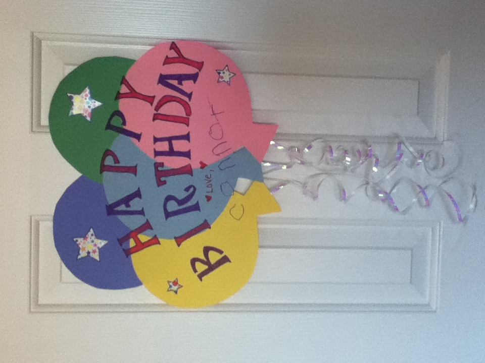 Birthday Decorations With Construction Paper Image Inspiration – Construction Paper Birthday Cards