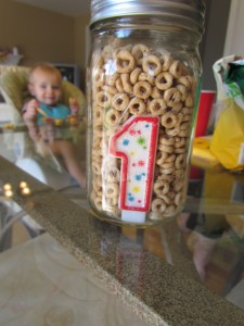 cheerio themed birthday party