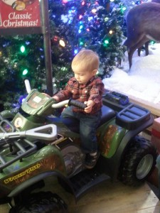 bass pro shop santa land