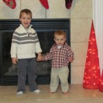 boys on christmas