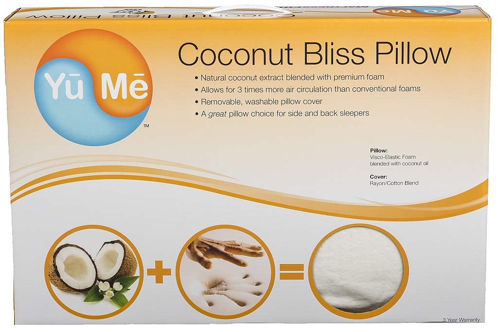 Coconut Bliss Pillow