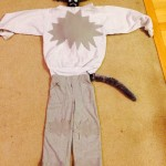 DIY no sew wolf costume