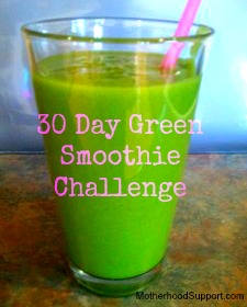 30 day Green Smoothie Challenge