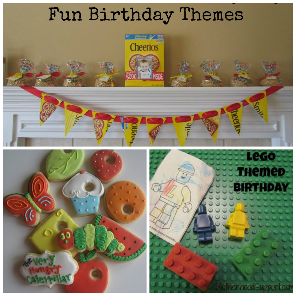 fun birthday party themes