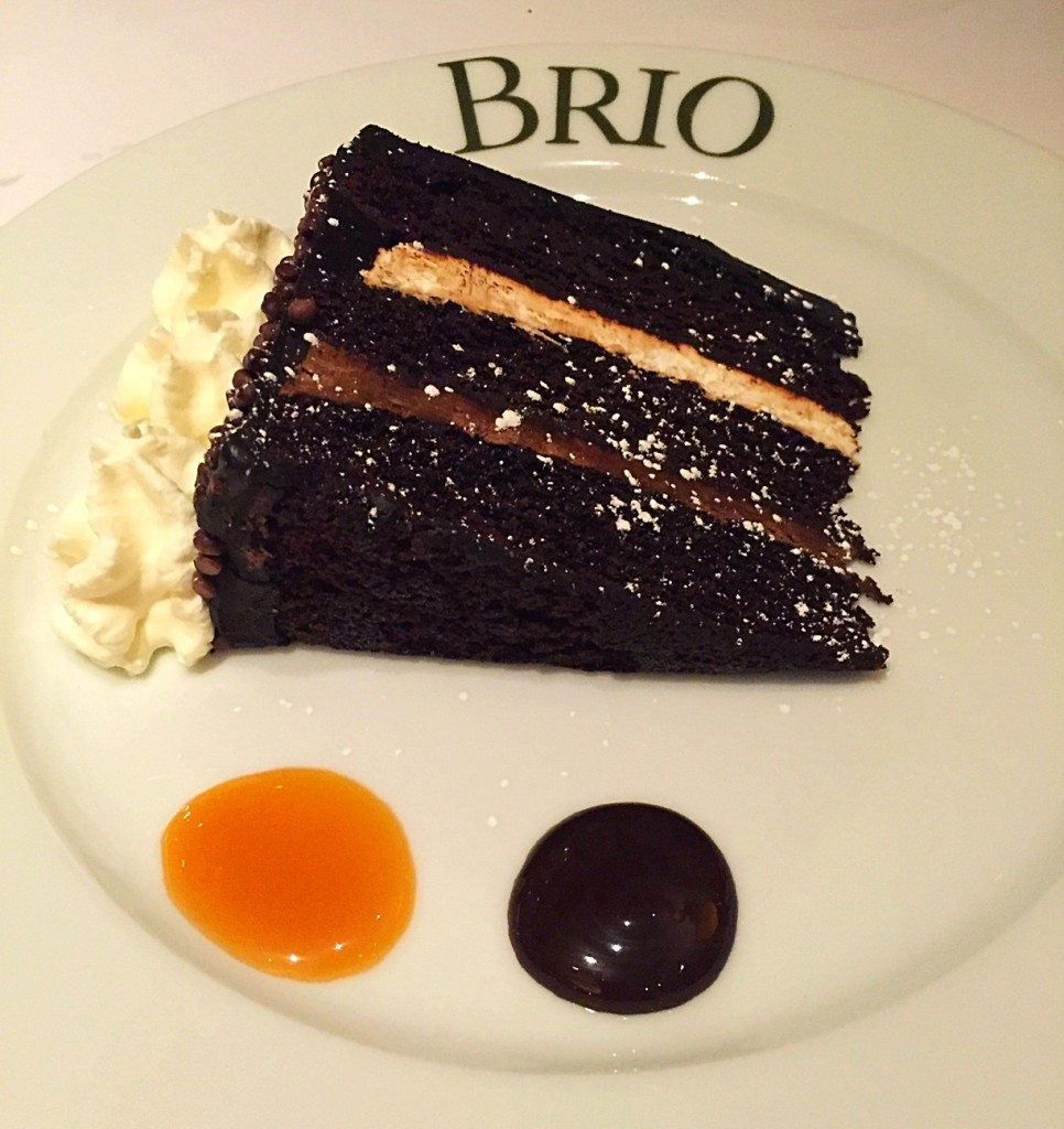 Brio Warm Chocolate Cake