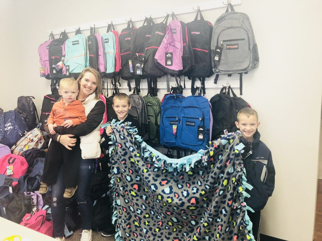 Warm Welcomes Foster Care Outreach
